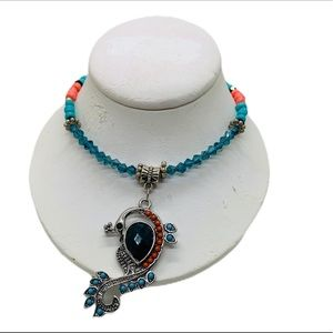 Jewelry - Peacock necklace